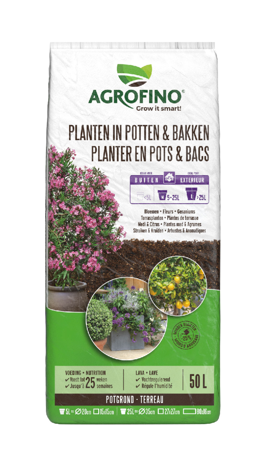 PLANTEN IN POTTEN & BAKKEN